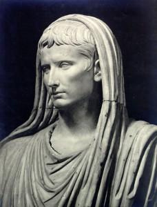 Augustus, pontifex maximus al Museu de Roma